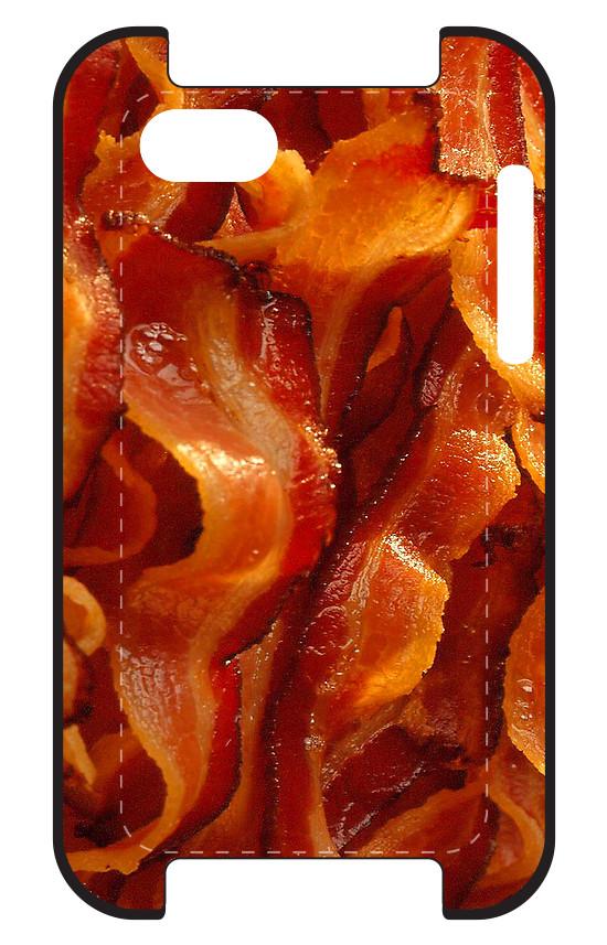 iphone case bacon redbubble