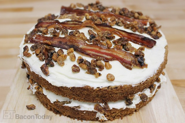 Candied Bacon And Walnut Carrot Cake Bacon Today