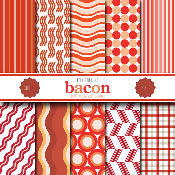 Mother's day bacon gift guide scrapbooking