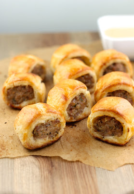 bacon sausage rolls