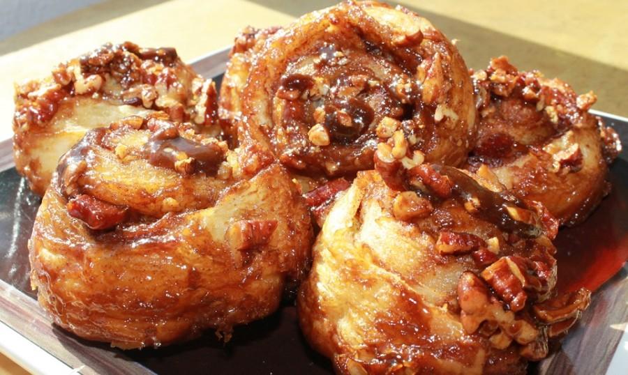 Sticky Sweet Bacon Buns